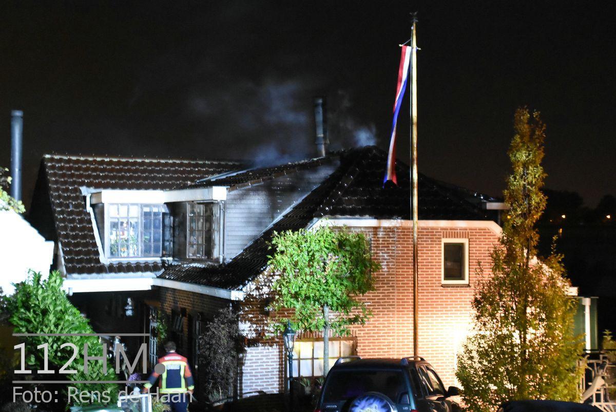 Uitslaande brand Noordeinde Moerkapelle (10)