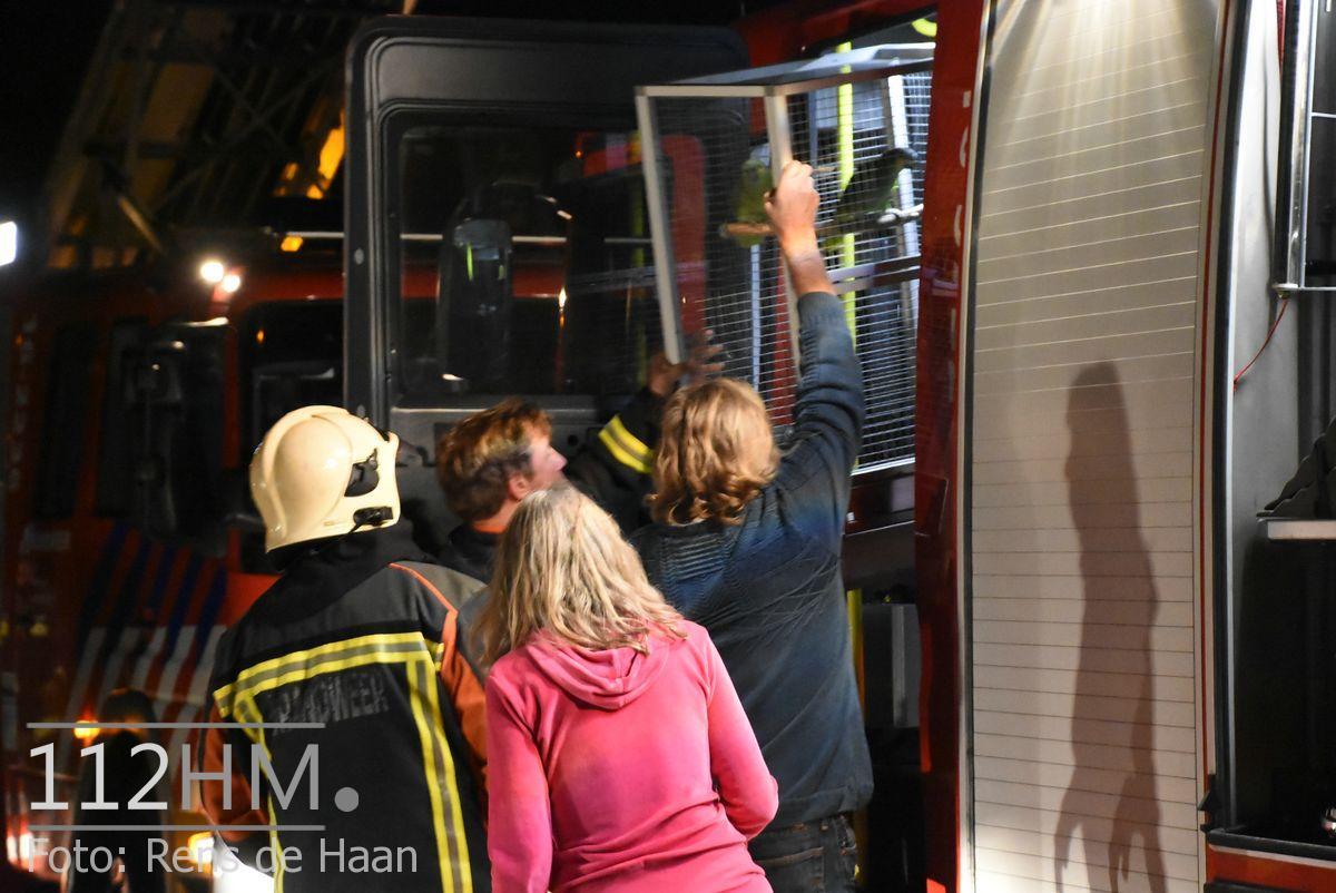Uitslaande brand Noordeinde Moerkapelle (15)