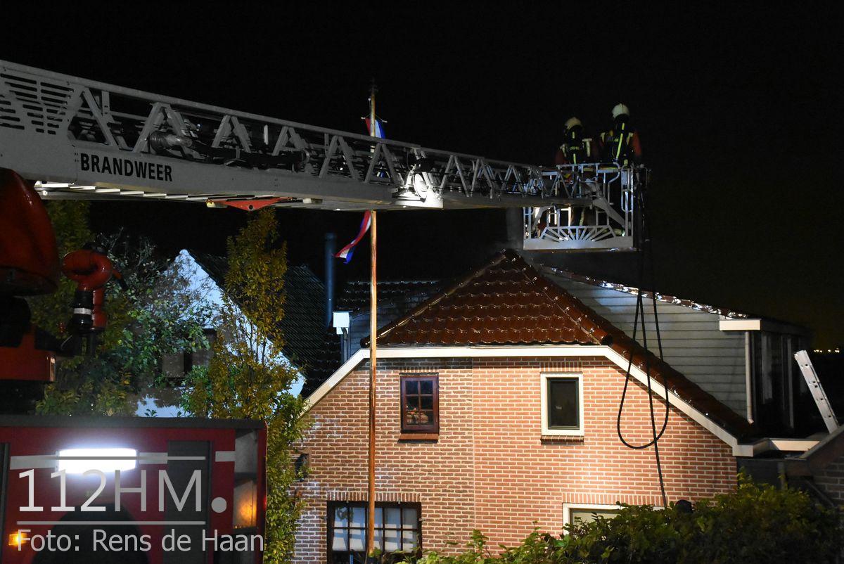 Uitslaande brand Noordeinde Moerkapelle (17)