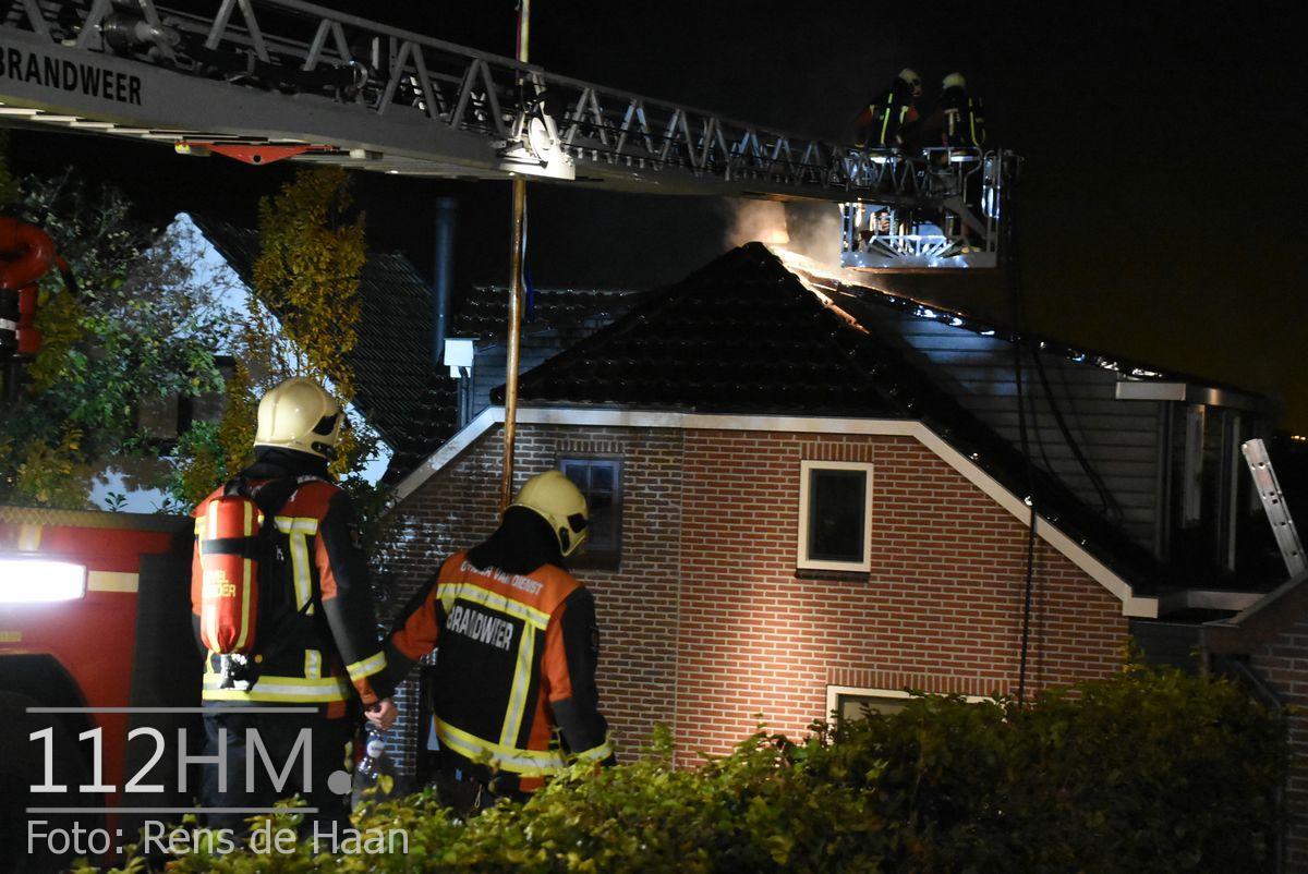 Uitslaande brand Noordeinde Moerkapelle (18)