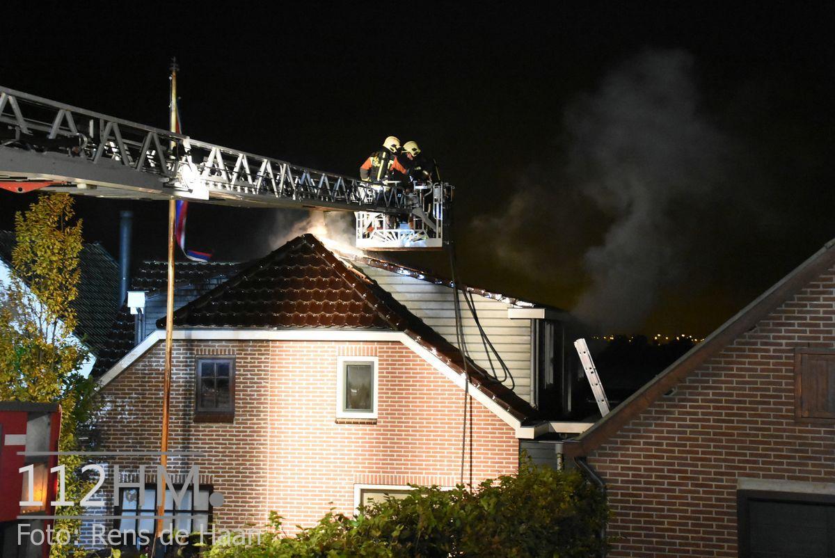 Uitslaande brand Noordeinde Moerkapelle (19)