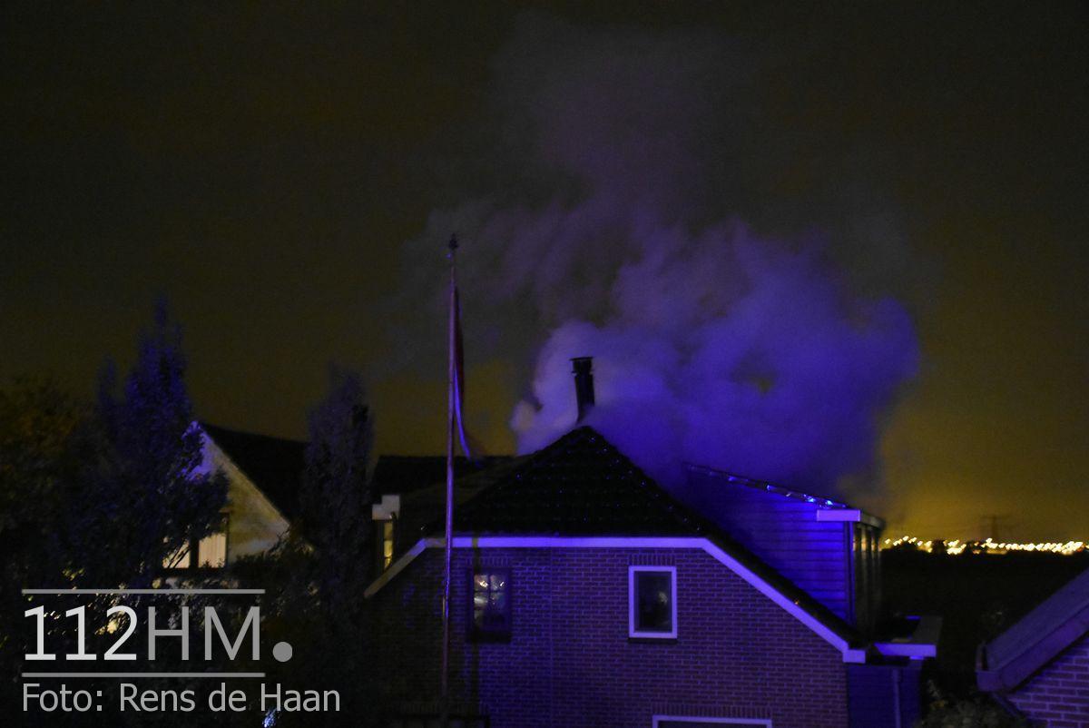 Uitslaande brand Noordeinde Moerkapelle (2)