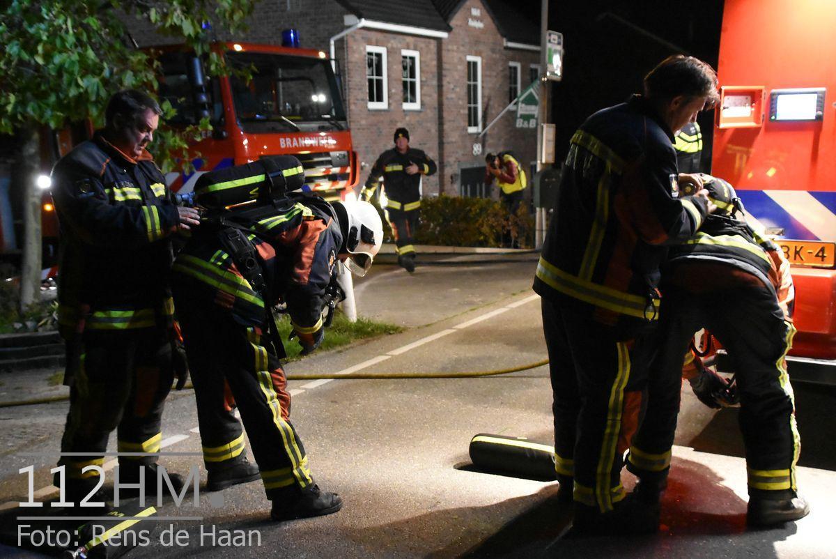 Uitslaande brand Noordeinde Moerkapelle (22)