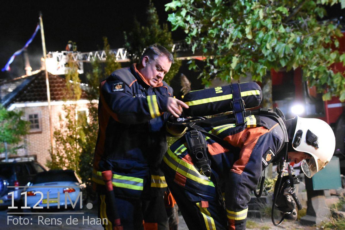 Uitslaande brand Noordeinde Moerkapelle (23)