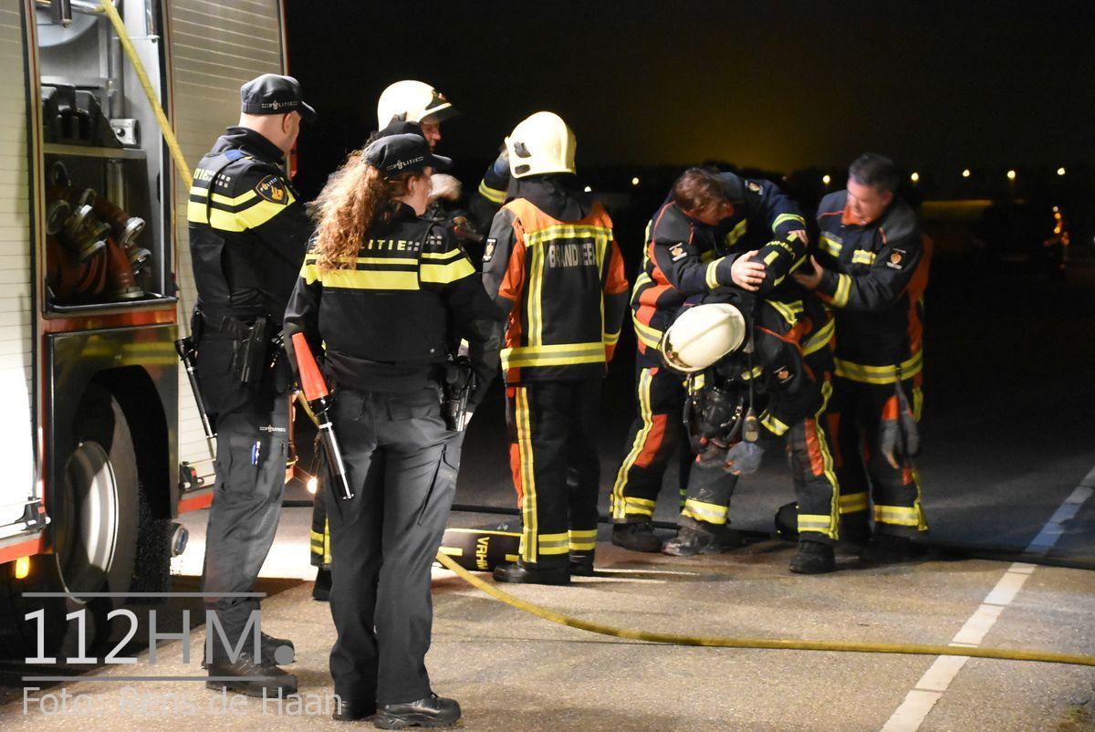 Uitslaande brand Noordeinde Moerkapelle (24)