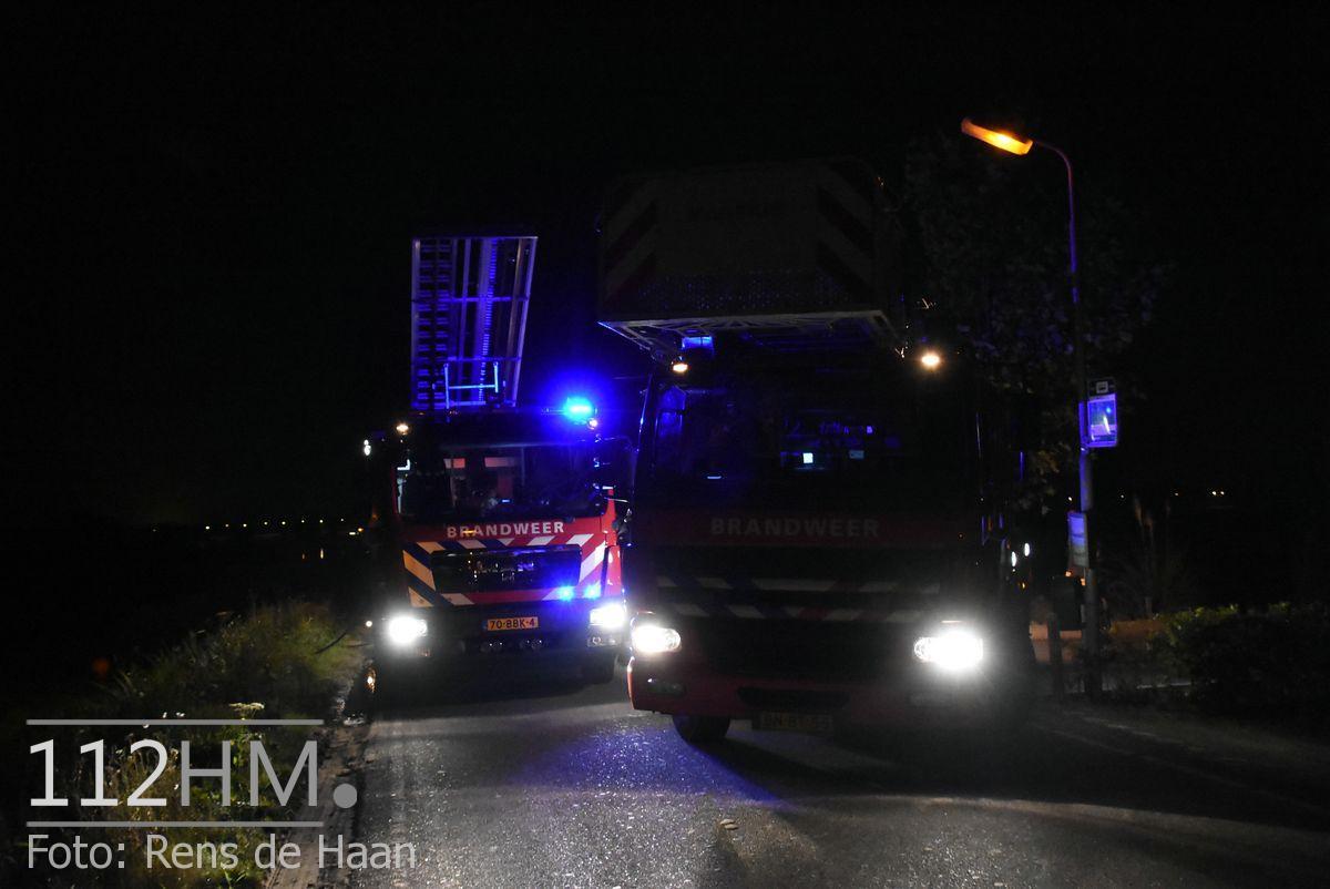 Uitslaande brand Noordeinde Moerkapelle (5)