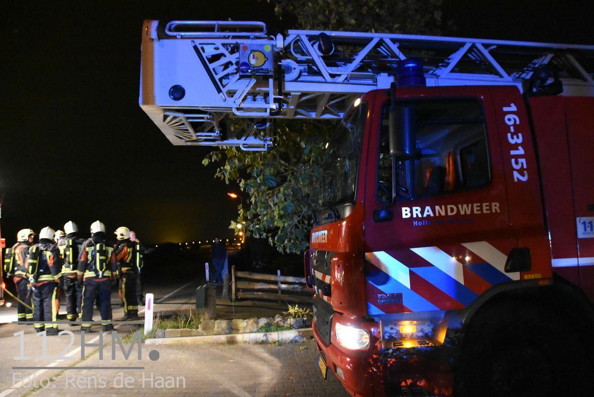 Uitslaande brand Noordeinde Moerkapelle (6)