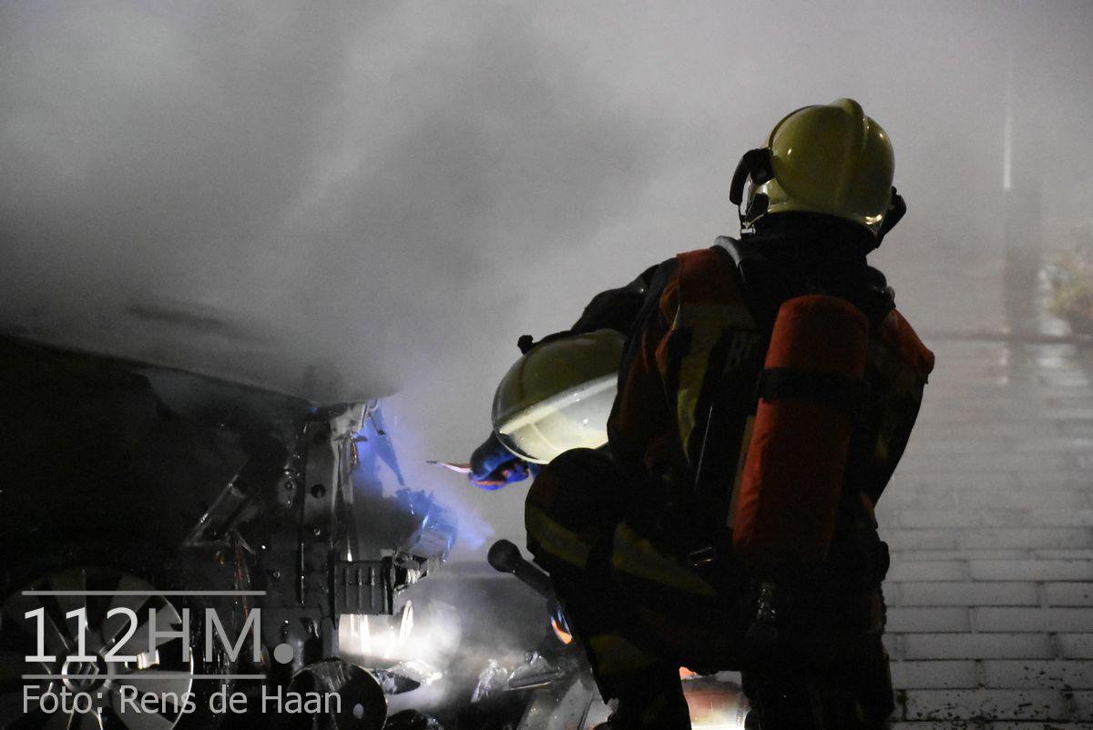 Voertuigbrand Kievitslaan Stolwijk (10)