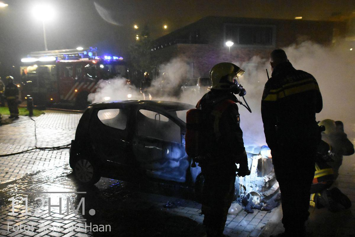 Voertuigbrand Kievitslaan Stolwijk (12)