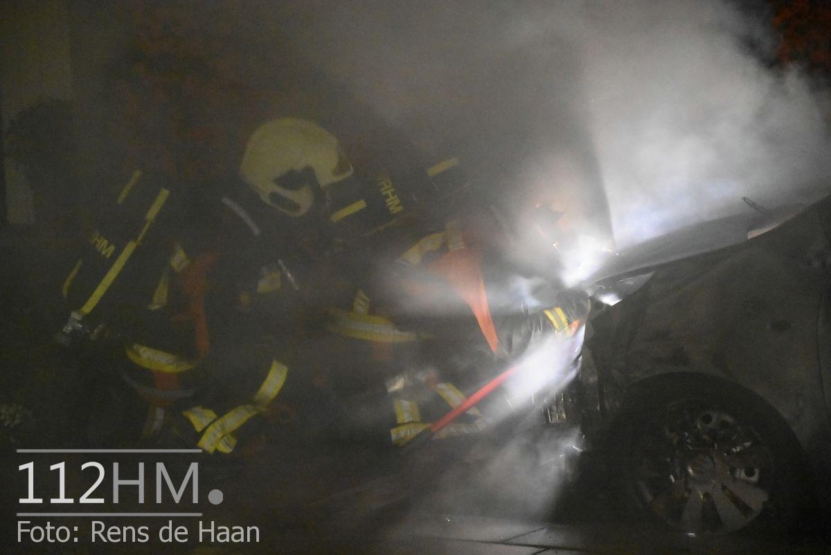 Voertuigbrand Kievitslaan Stolwijk (13)