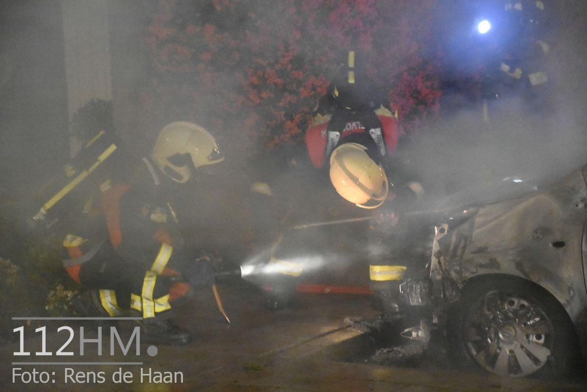 Voertuigbrand Kievitslaan Stolwijk (14)