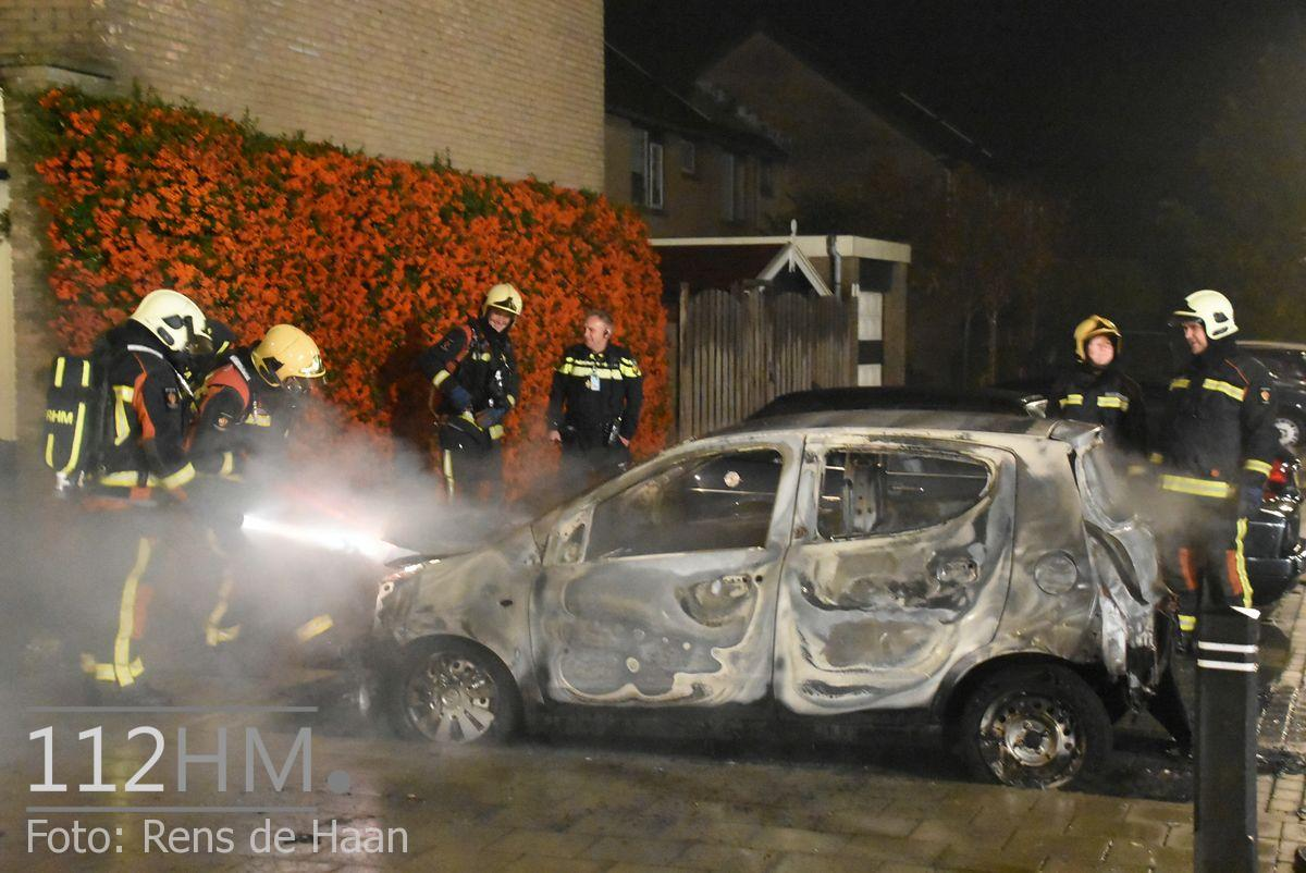 Voertuigbrand Kievitslaan Stolwijk (15)