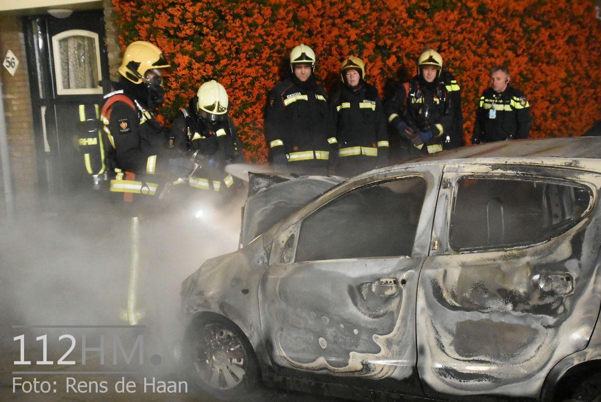 Voertuigbrand Kievitslaan Stolwijk (16)