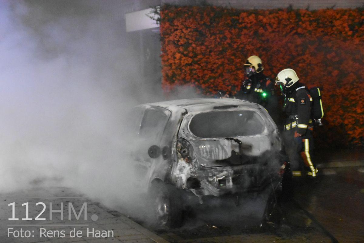 Voertuigbrand Kievitslaan Stolwijk (3)
