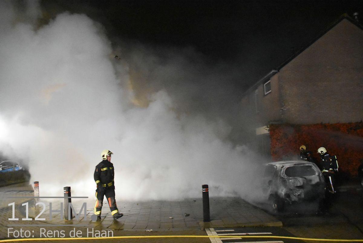 Voertuigbrand Kievitslaan Stolwijk (4)