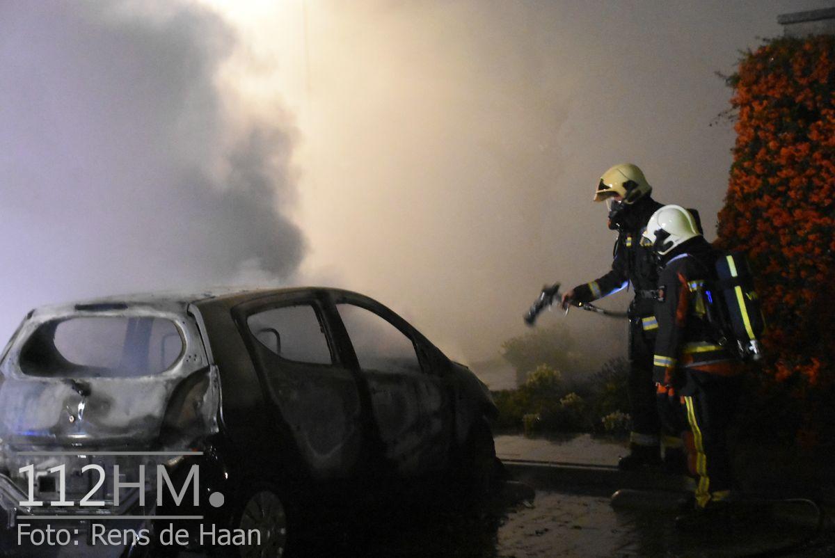 Voertuigbrand Kievitslaan Stolwijk (5)