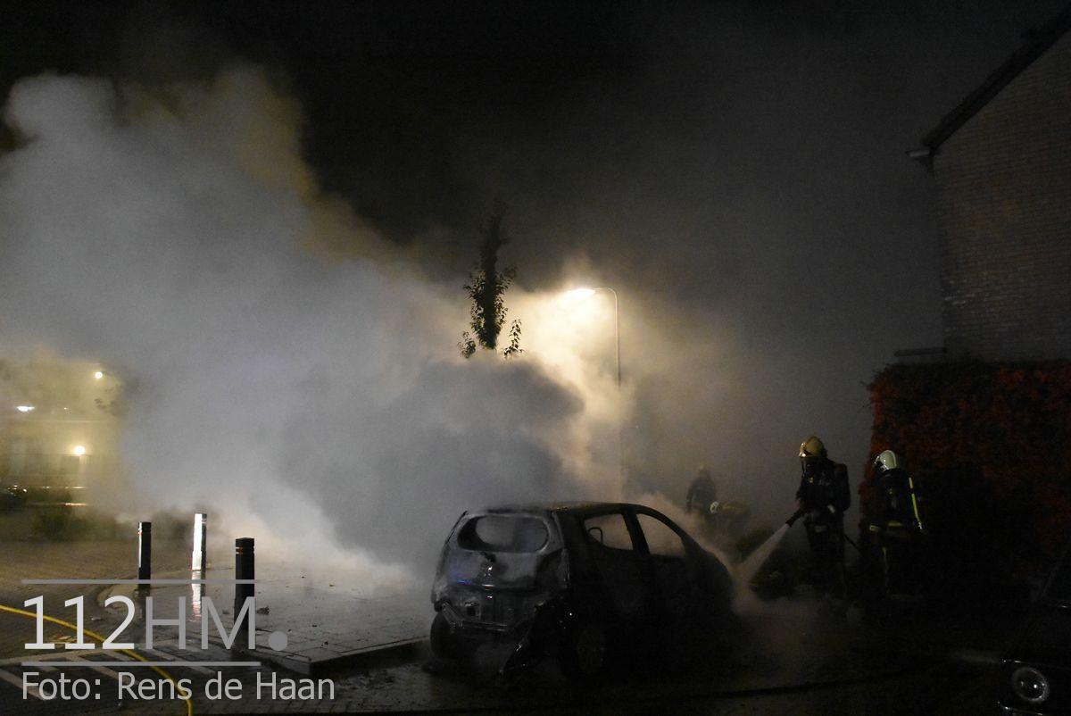 Voertuigbrand Kievitslaan Stolwijk (6)
