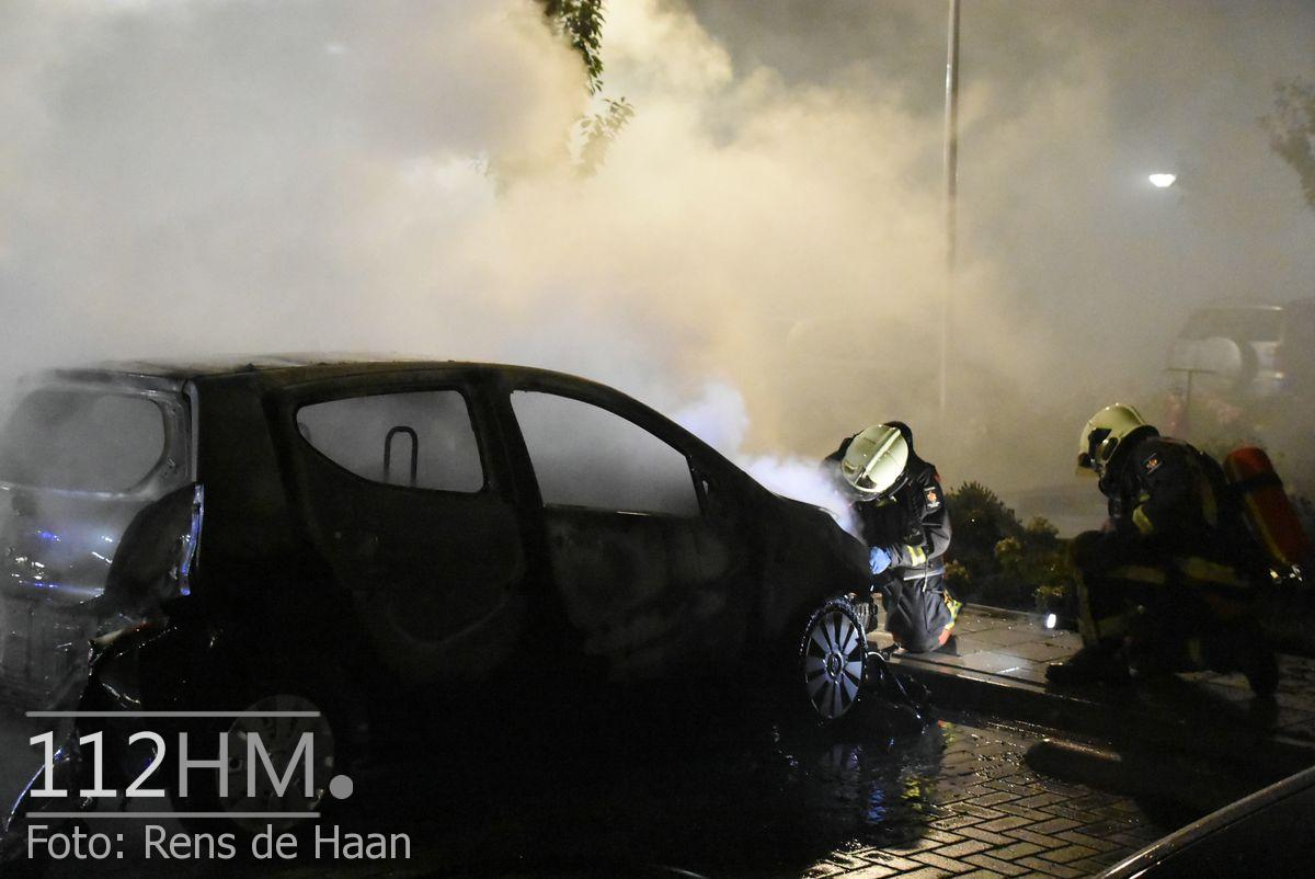 Voertuigbrand Kievitslaan Stolwijk (8)