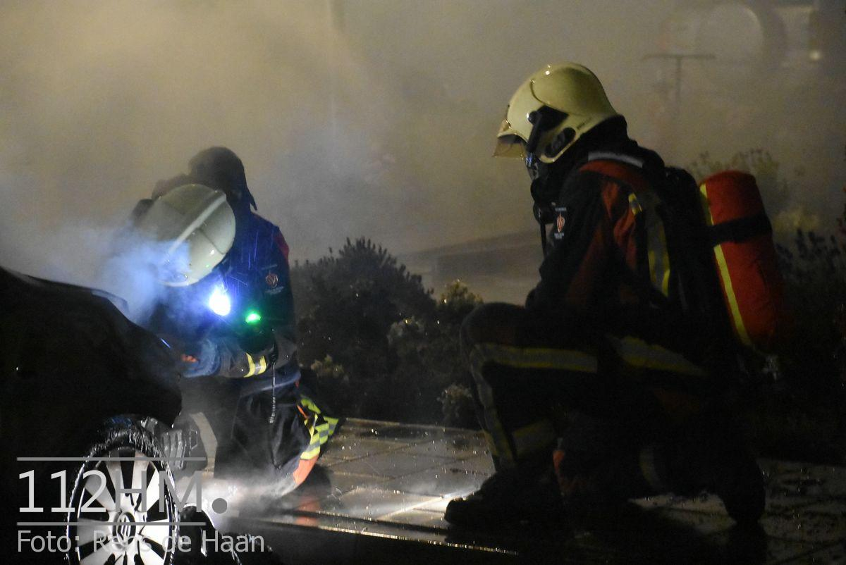 Voertuigbrand Kievitslaan Stolwijk (9)