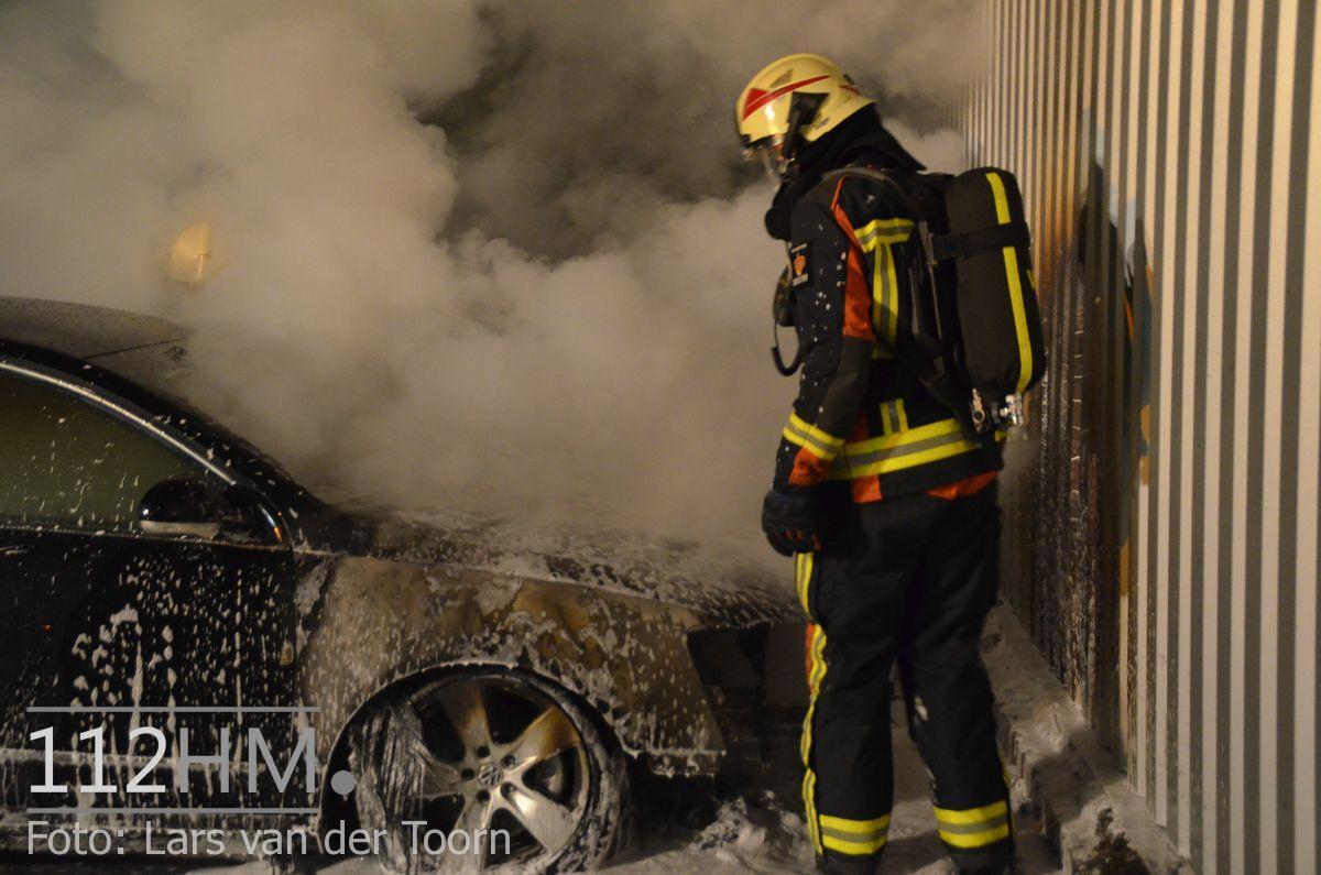 Voertuigbrand Noordstaring WDN LT (1)