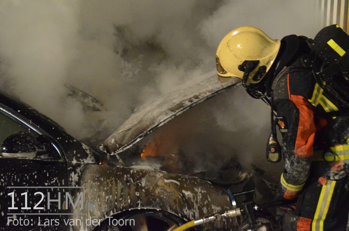 Voertuigbrand Noordstaring WDN LT (2)