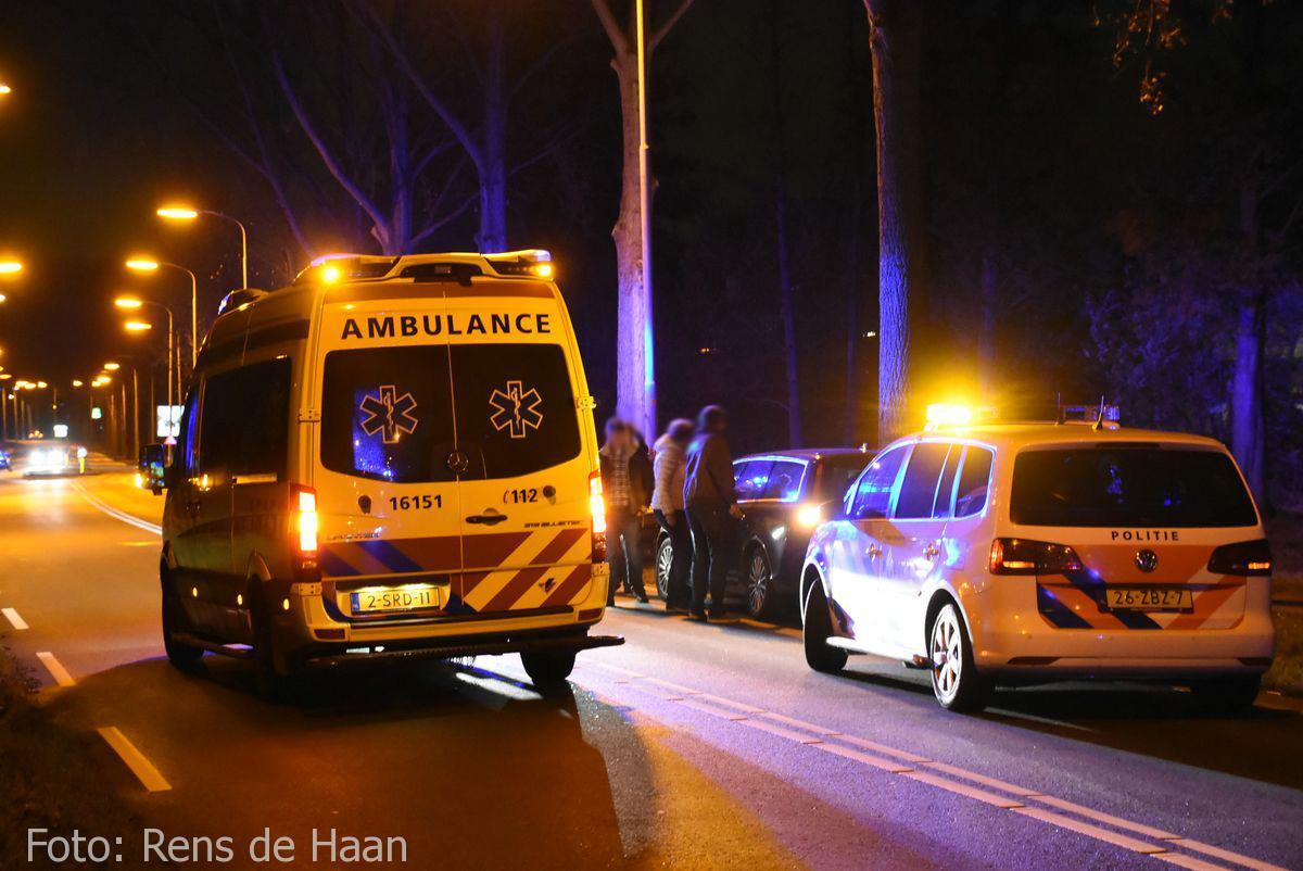 'Beknelling' bij ongeval in Gouda (1)