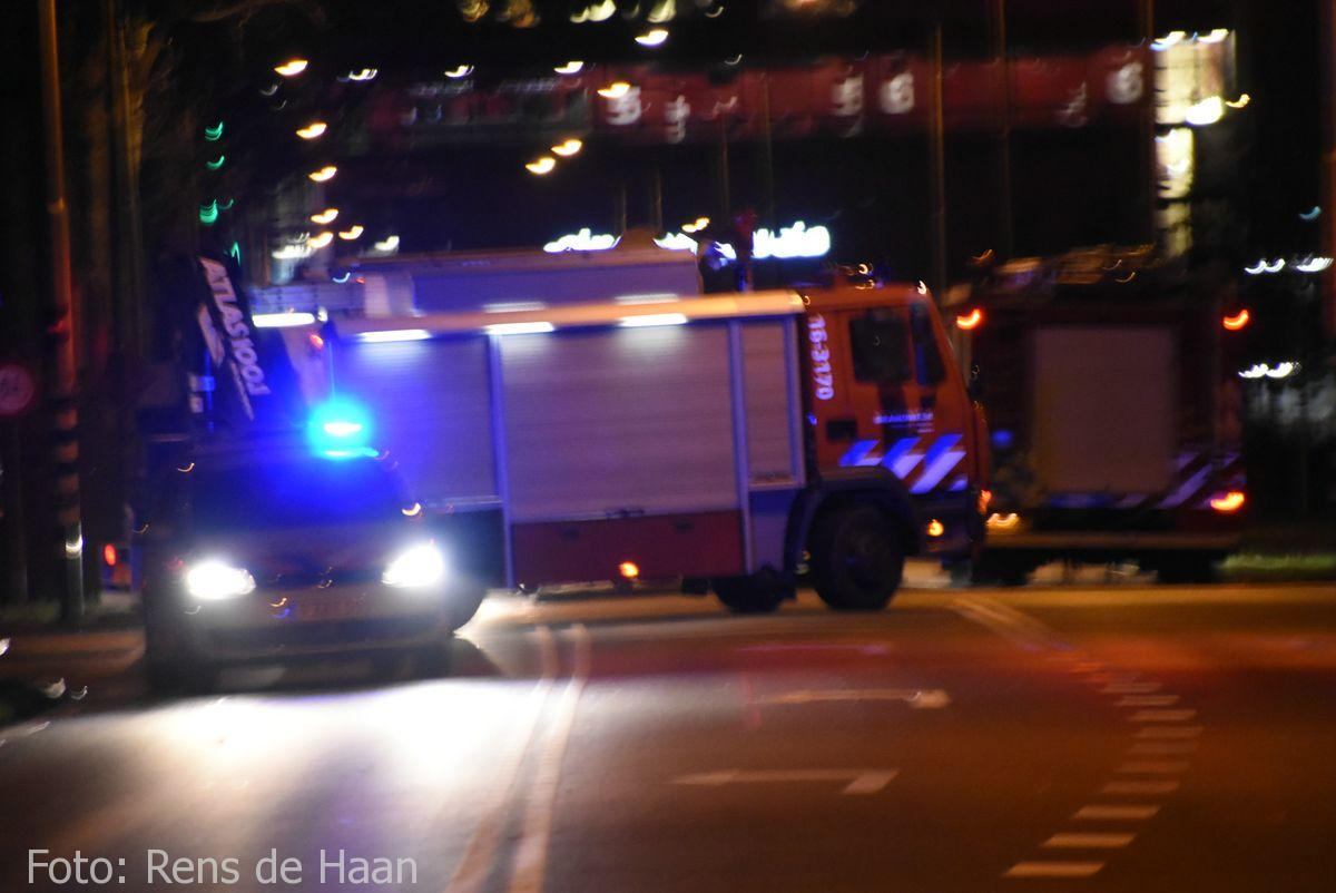 'Beknelling' bij ongeval in Gouda (2)
