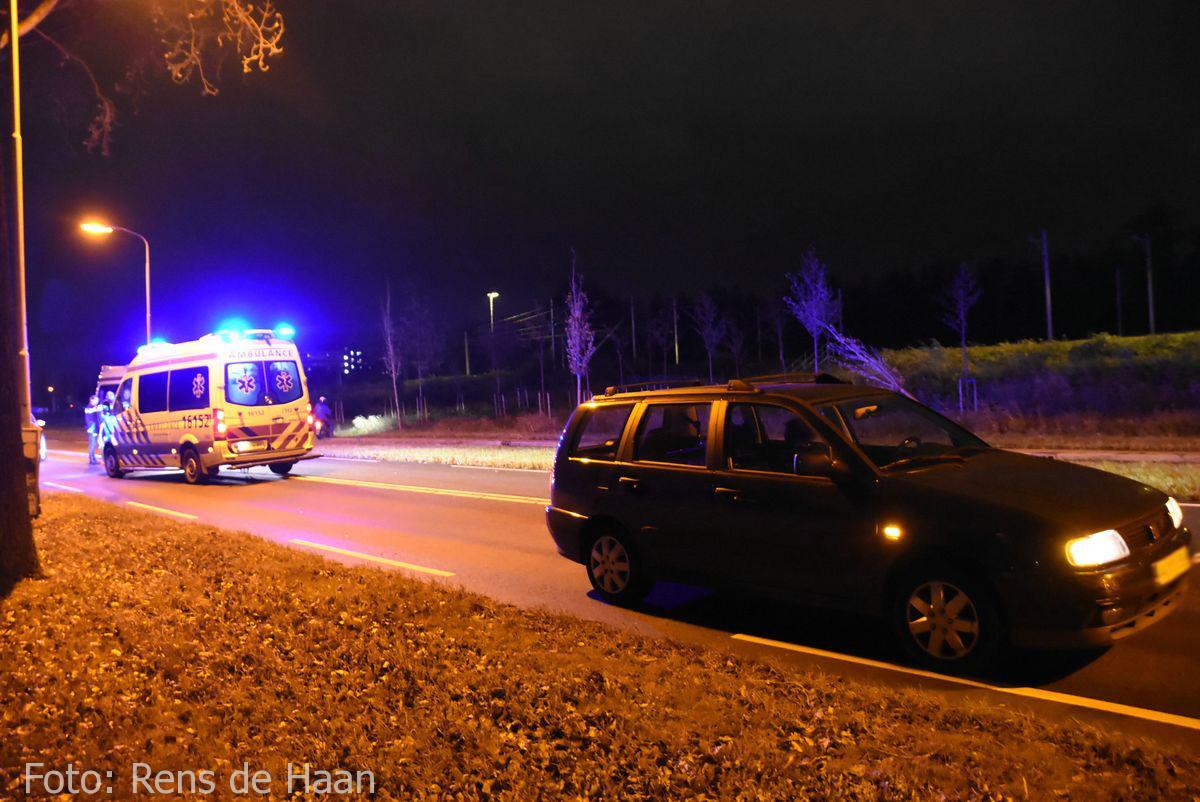 'Beknelling' bij ongeval in Gouda (4)