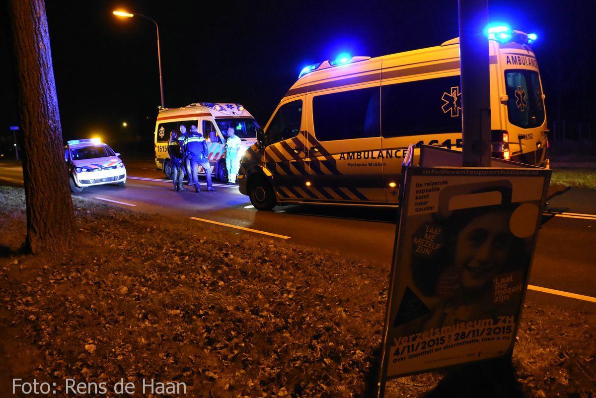 'Beknelling' bij ongeval in Gouda (5)
