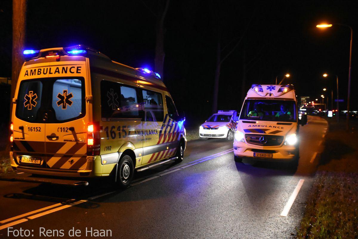'Beknelling' bij ongeval in Gouda (7)