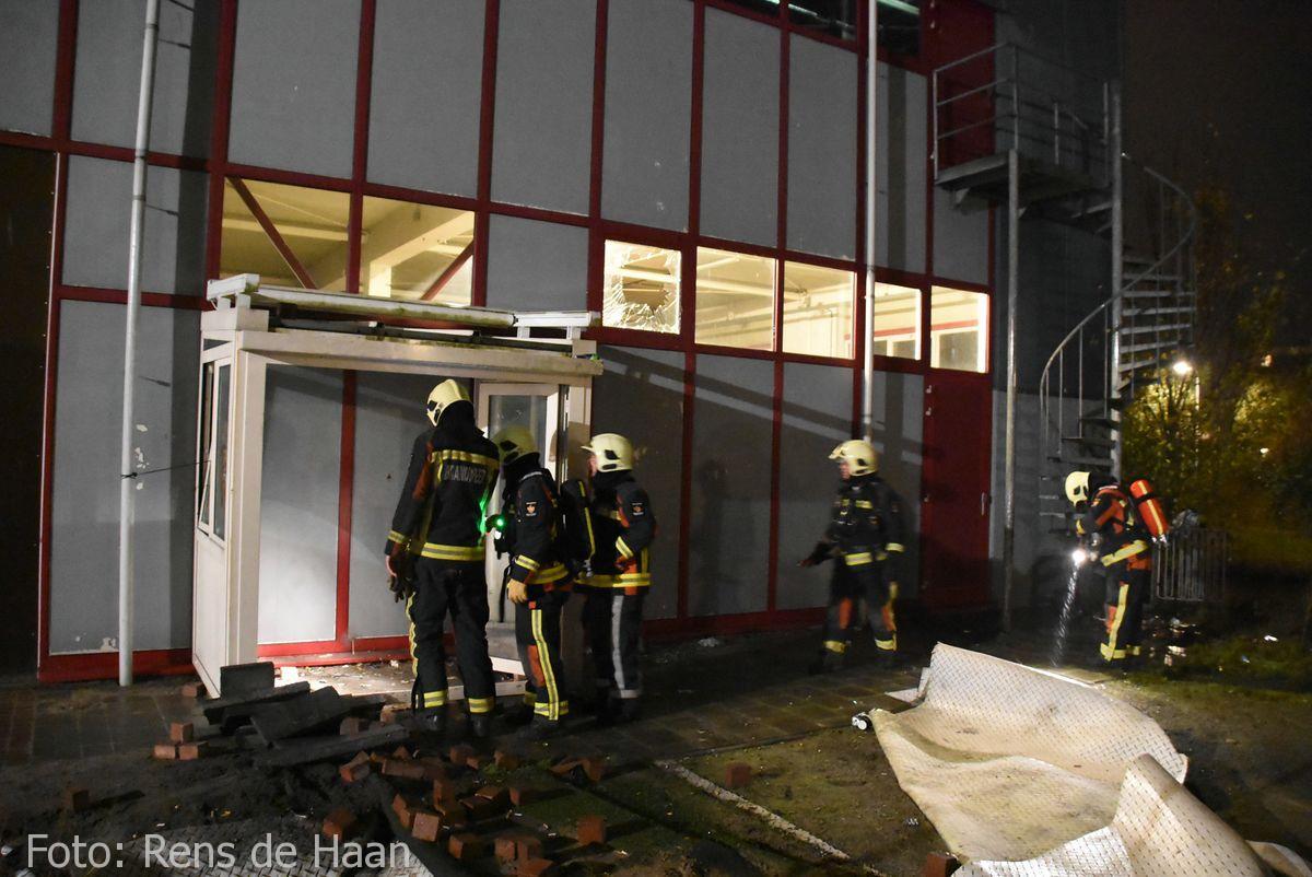 Binnen cq buitenbrand Goverwellesingel Gouda (2)
