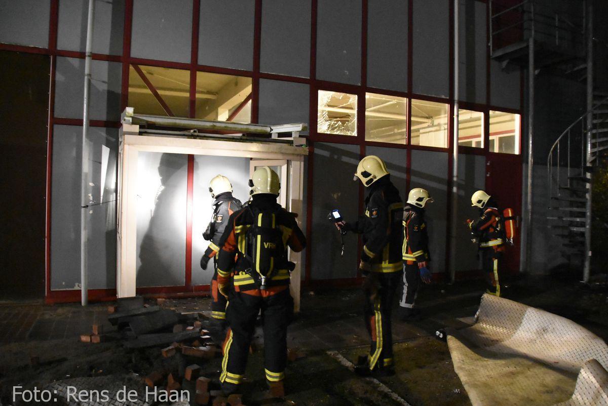Binnen cq buitenbrand Goverwellesingel Gouda (3)