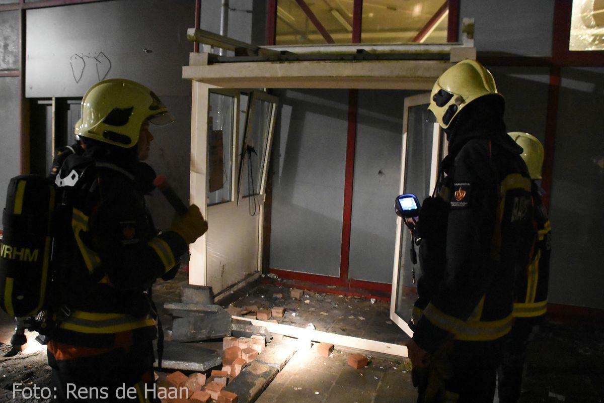 Binnen cq buitenbrand Goverwellesingel Gouda (4)