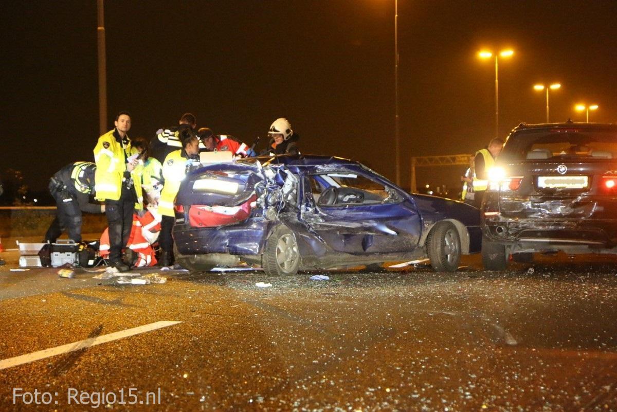 Dodelijk ongeval A4 Leidschendam (1)