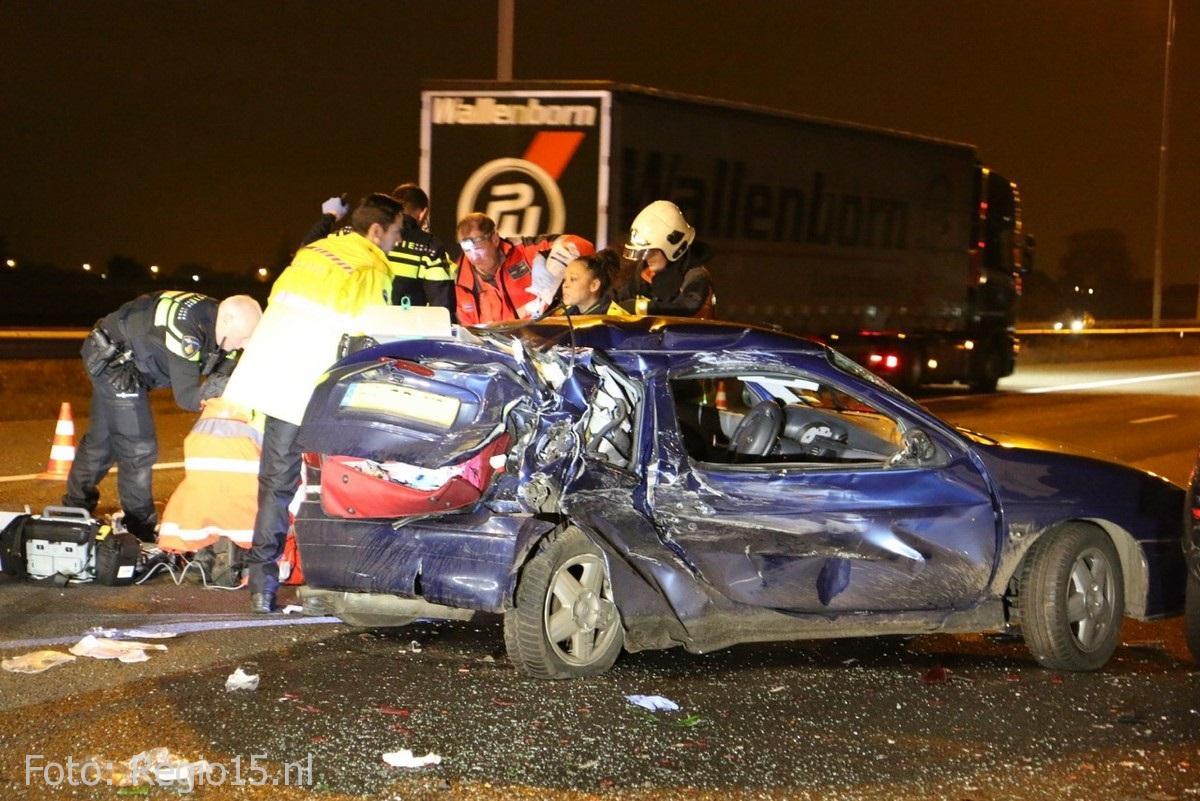 Dodelijk ongeval A4 Leidschendam (2)