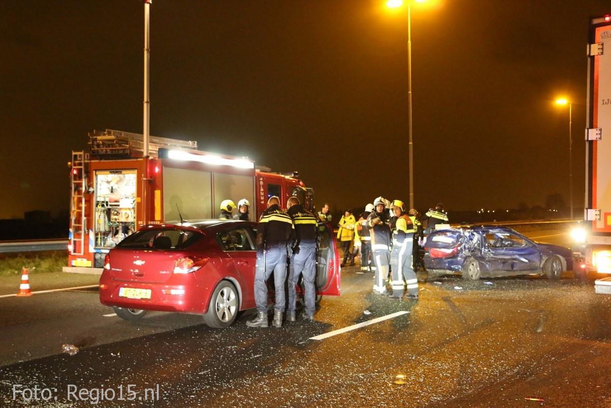 Dodelijk ongeval A4 Leidschendam (5)