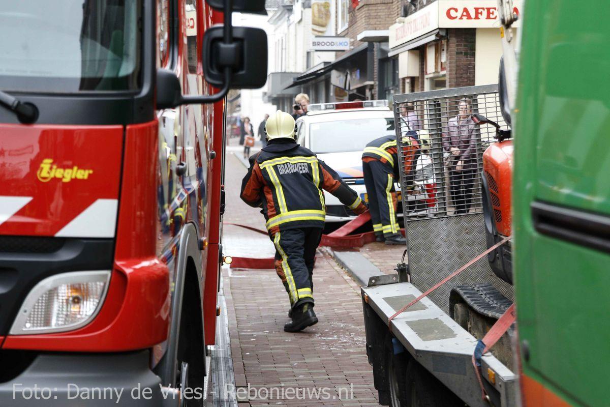 Middelbrand Prins Hendrikstraat Bodegraven (1)
