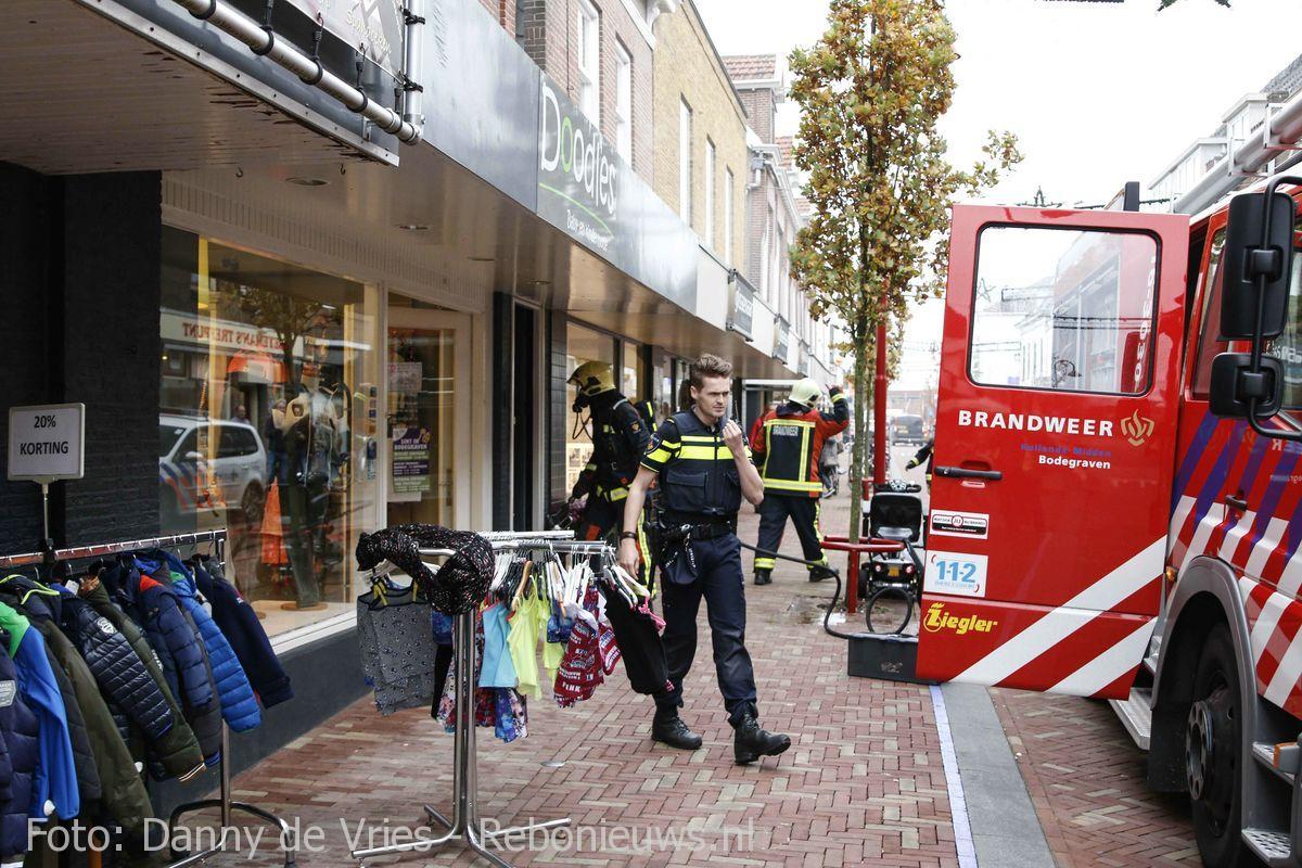 Middelbrand Prins Hendrikstraat Bodegraven (2)