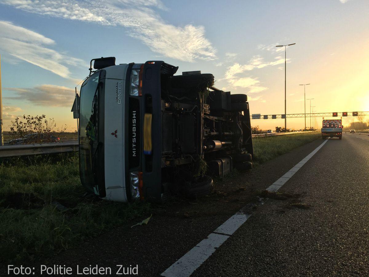 Ongeval A4 Leidschendam (1)