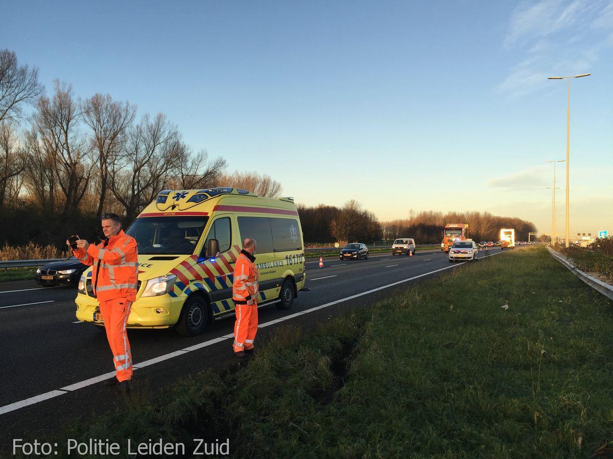 Ongeval A4 Leidschendam (2)