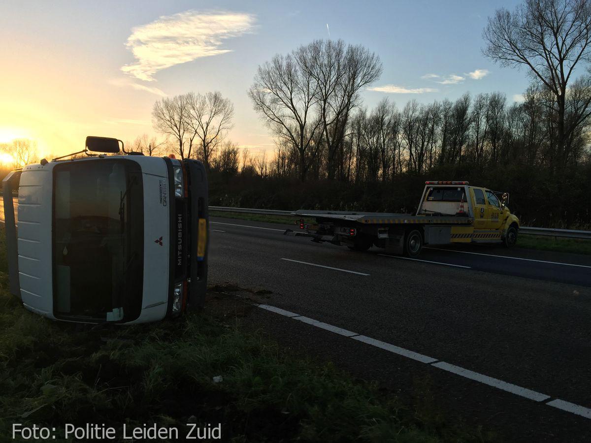 Ongeval A4 Leidschendam (4)