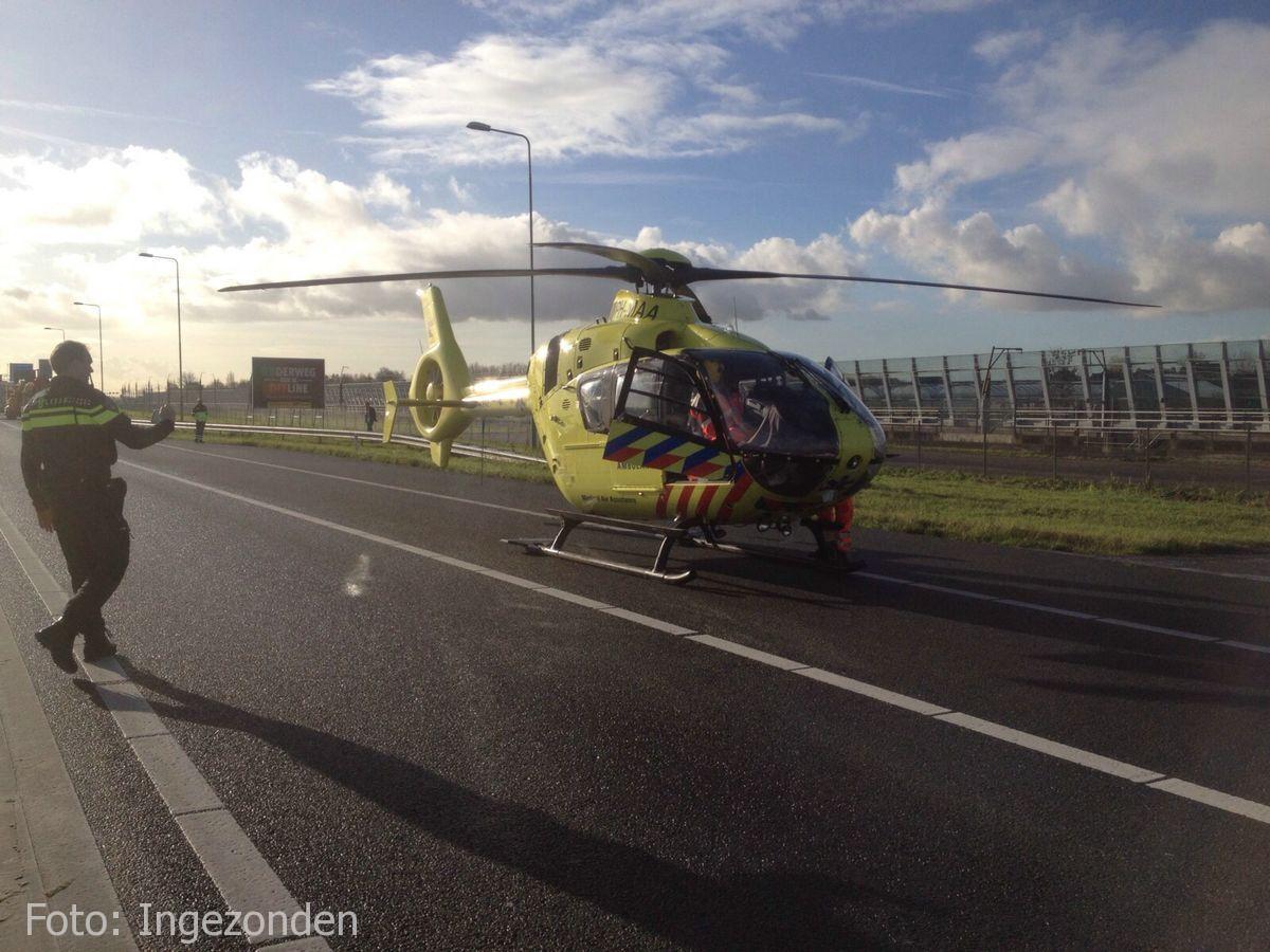 Ongeval A4 Roelofarendsveen (1)
