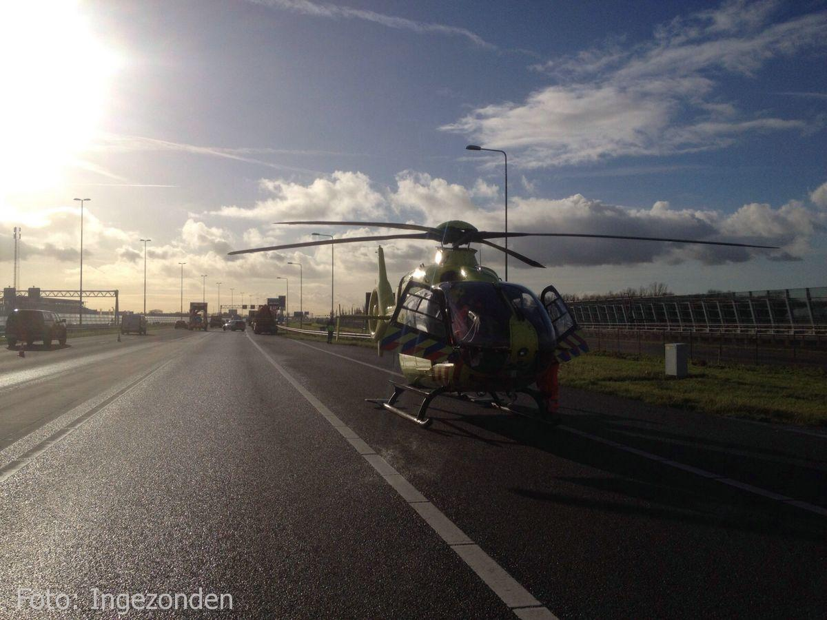 Ongeval A4 Roelofarendsveen (2)