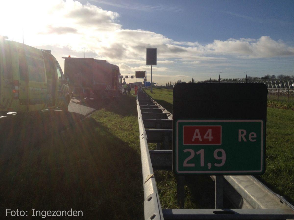 Ongeval A4 Roelofarendsveen (5)