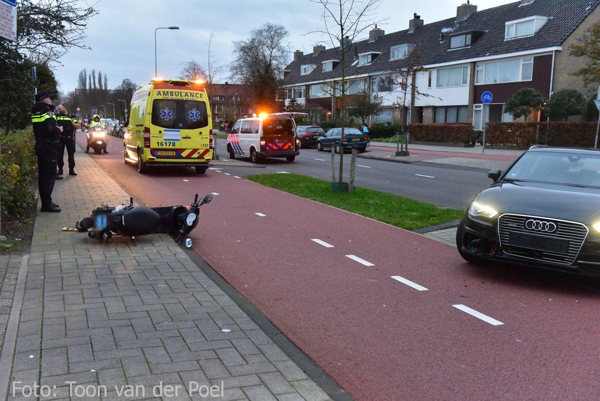 Ongeval Vondellaan in Leiden  (1)