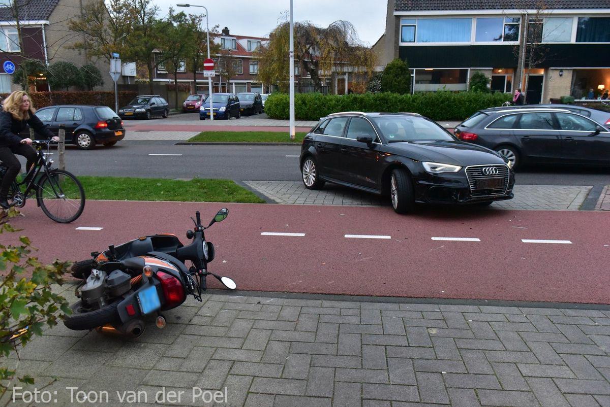 Ongeval Vondellaan in Leiden  (2)