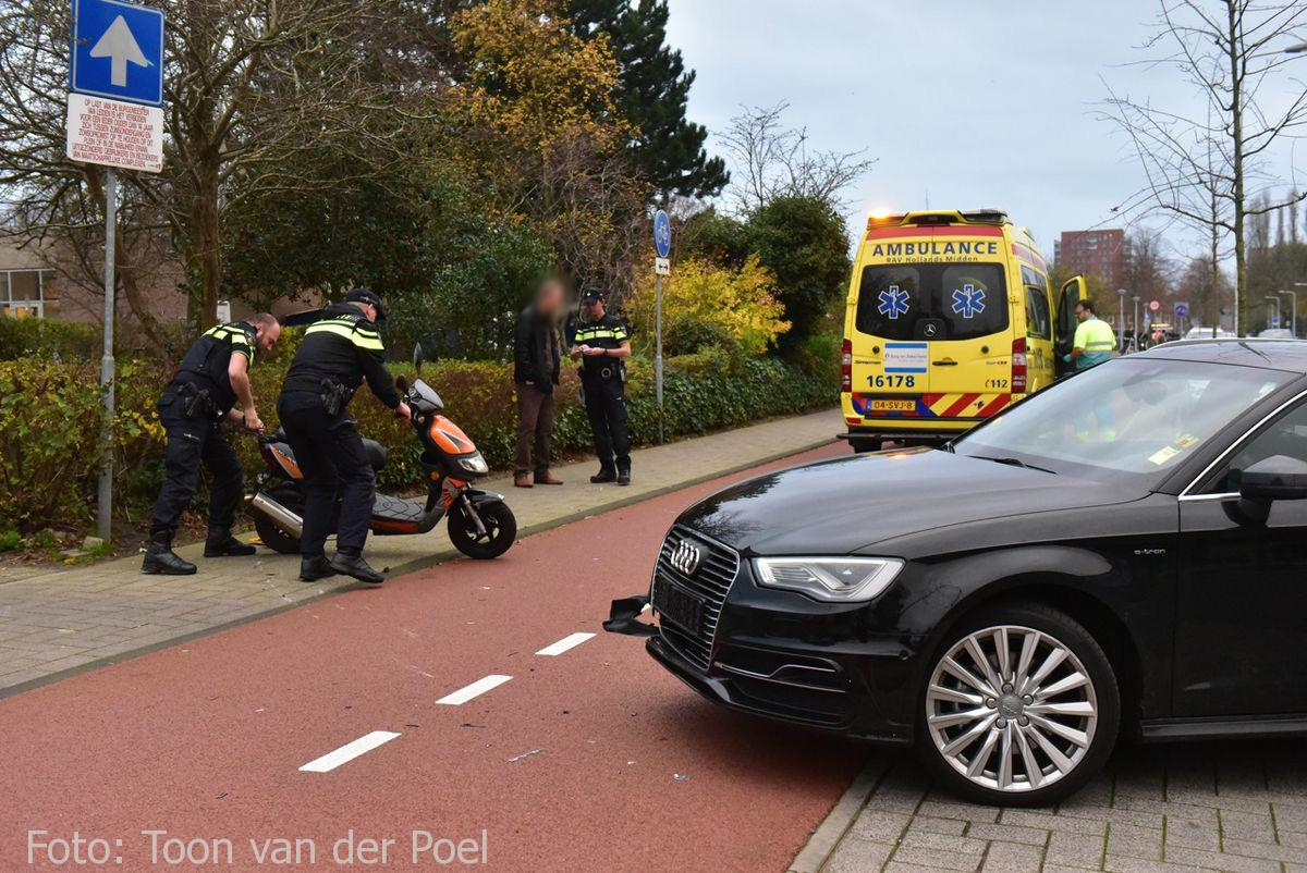 Ongeval Vondellaan in Leiden  (3)