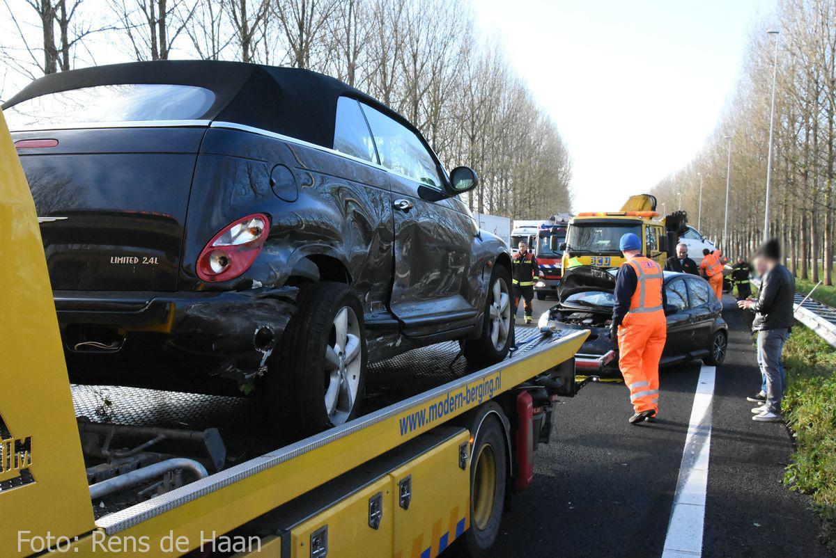 Ongeval op de A12 bij Reeuwijk (10)
