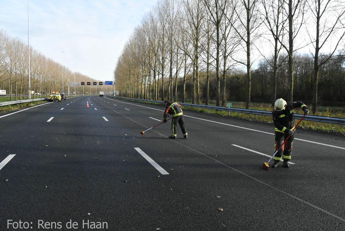 Ongeval op de A12 bij Reeuwijk (12)