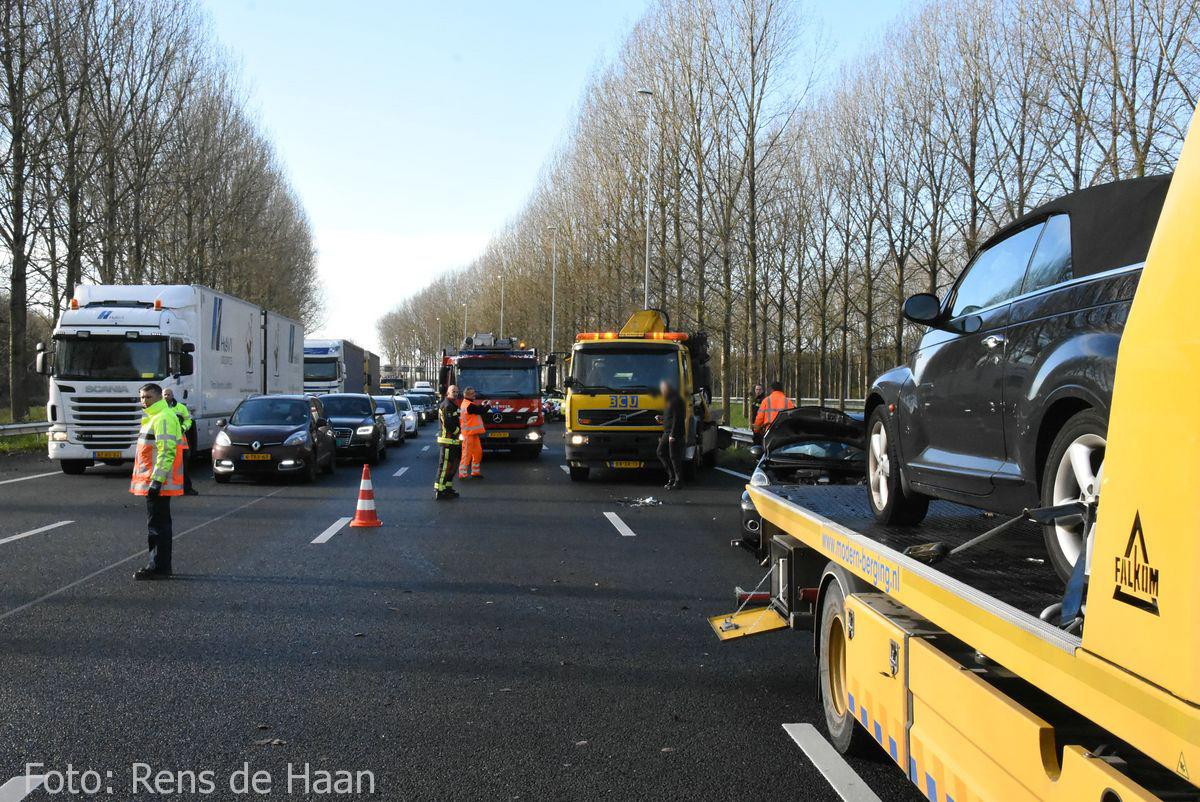 Ongeval op de A12 bij Reeuwijk (13)